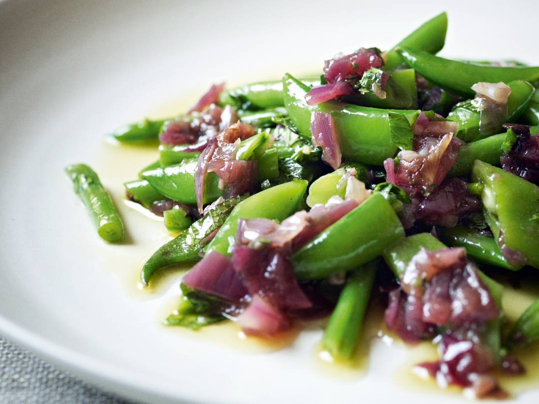 ingredients 125g runner beans 125g french beans 125g sugarsnap peas ...