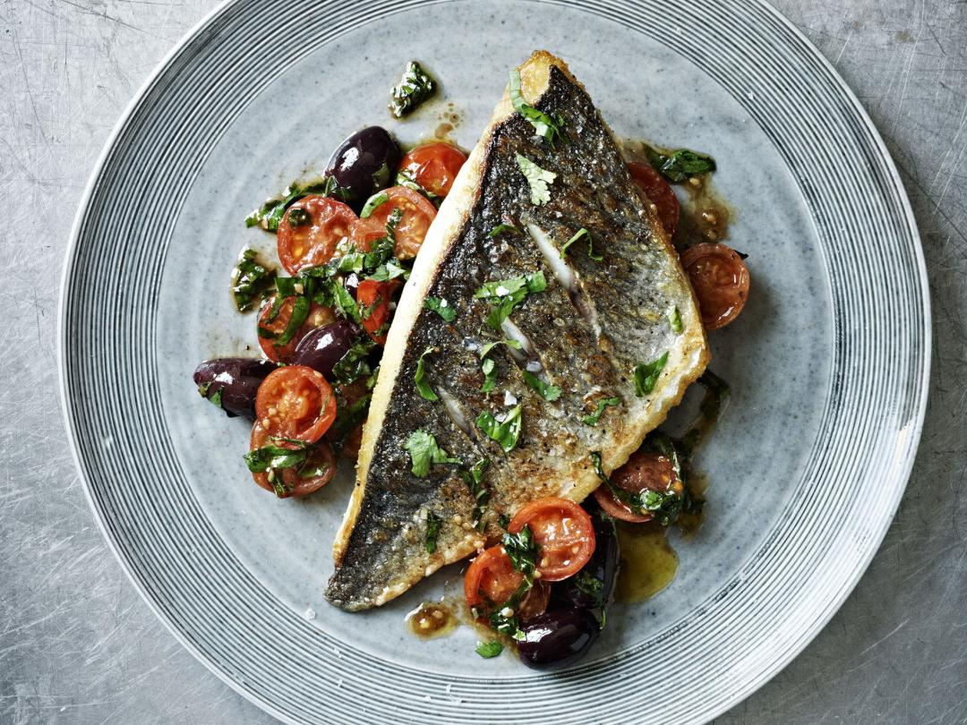 Sea Bream With Tomato Herb Salsa Recipe Gordon Ramsay Recipes