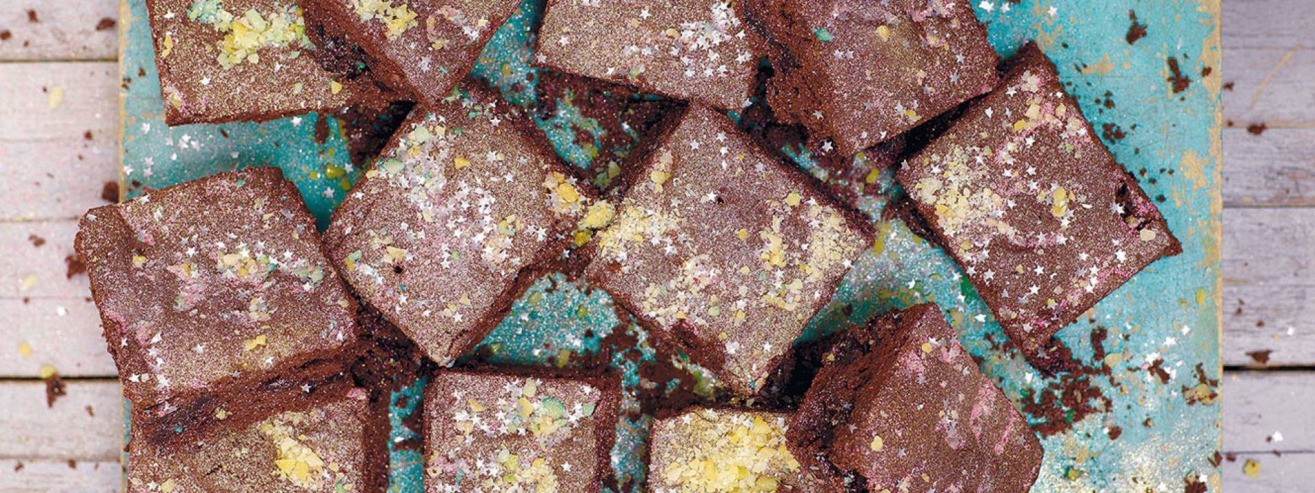 Pop power chocolate brownies