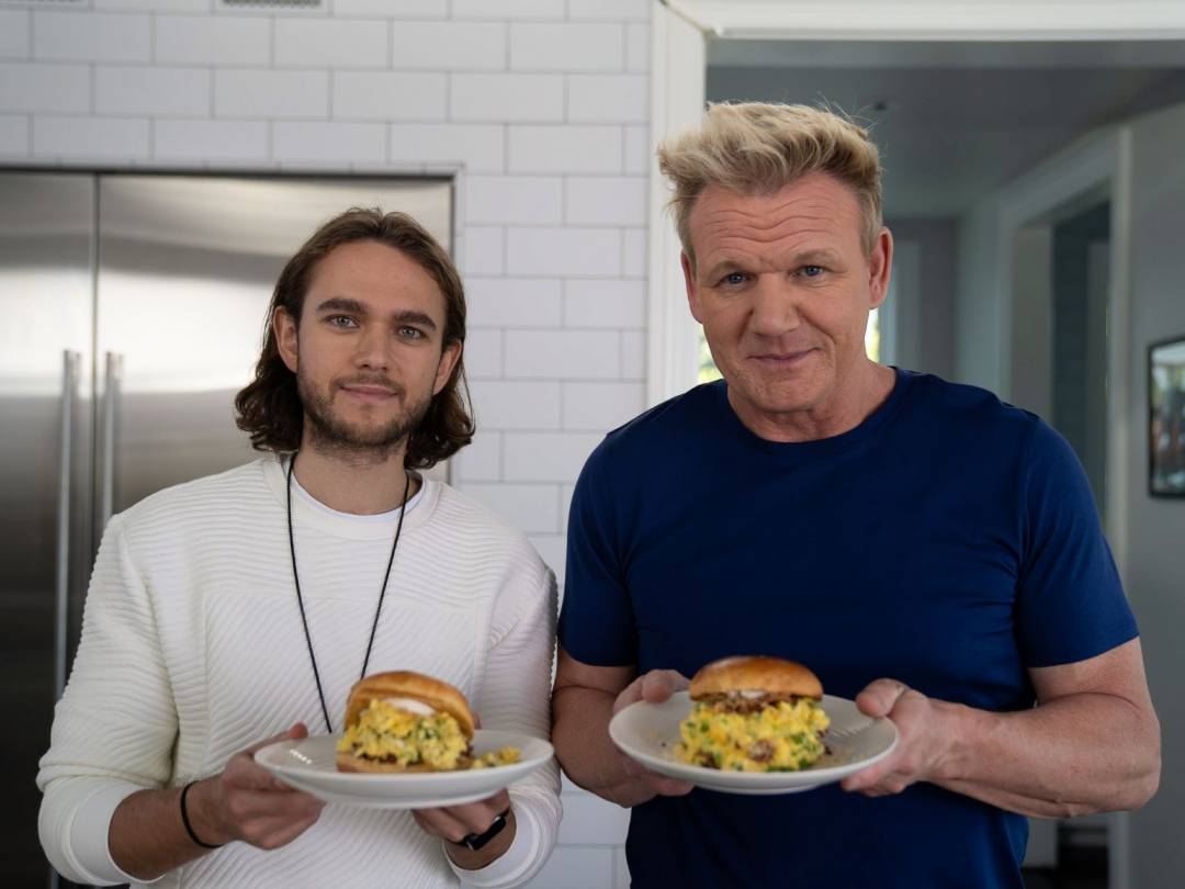Gordon and Zedd Scrambled egg breakfast recipe 2019 medium