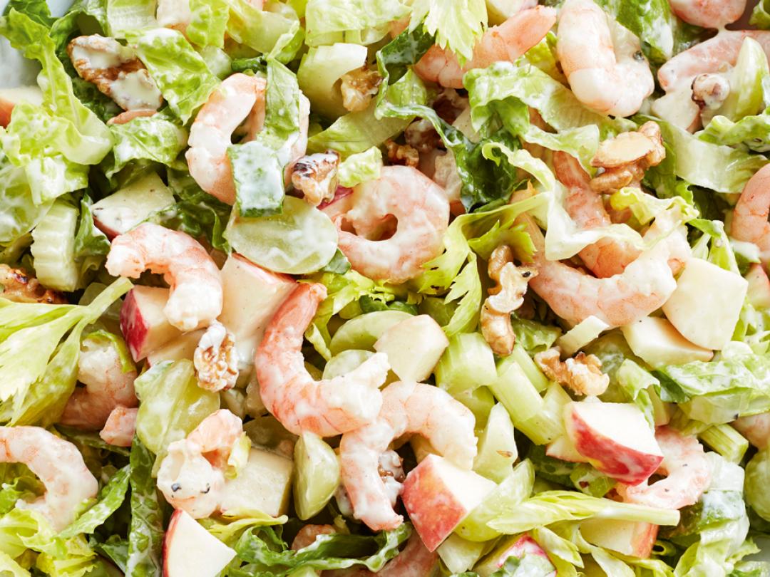 Prawn Waldorf Salad Healthy