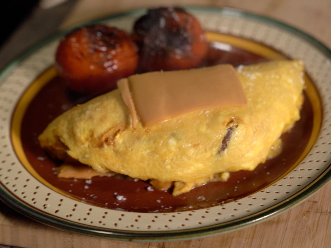 Reindeer Omelette From Scrambled On The Road Gordon Ramsay Com