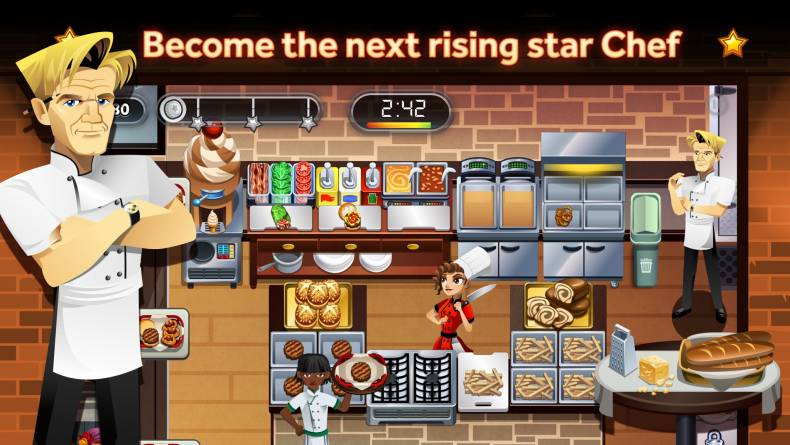 Gordon Ramsay Game Restaurant Dash With Gordon Ramsay Gordon Ramsay